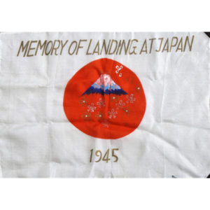 Souvenir of Service Flags & Related