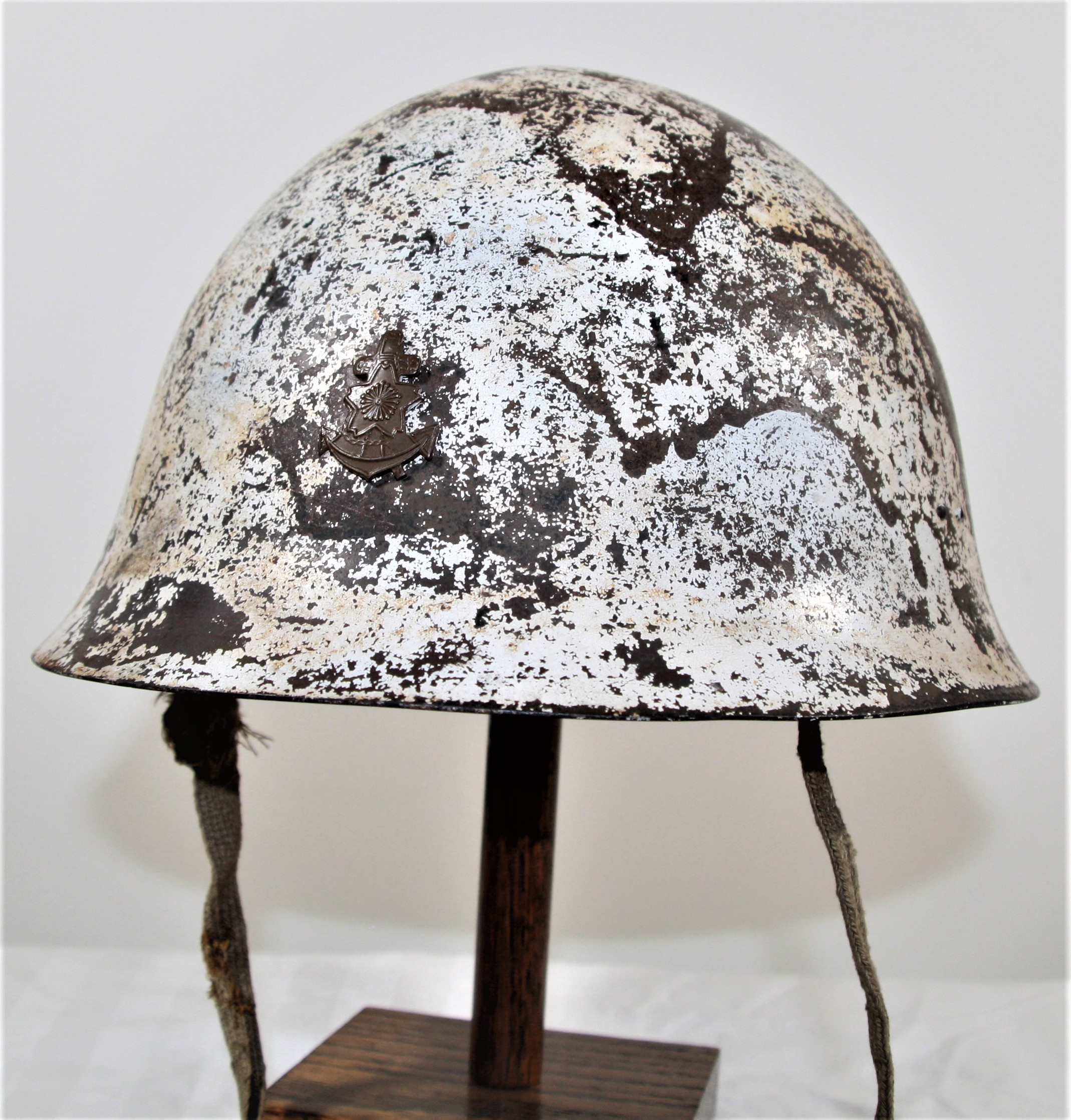 WWII Military Gears Sale JAPANESE WW2 Iron Steel Type 90 HELMET With Net Cover
